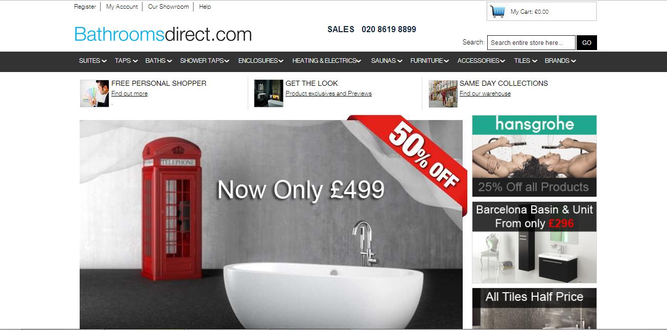 Magento Store Bathroomdirect.com