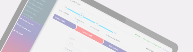 Laravel Backend Admin Screen